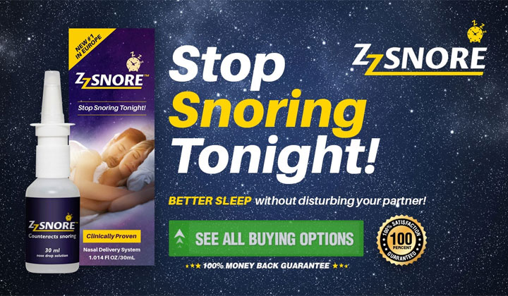 ZZ Snore – Stop Snoring Naturally