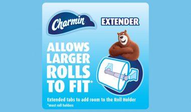 FREE Charmin Mega Roll Extender Spindle