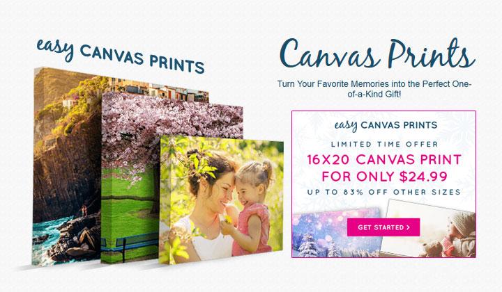 Buy Canvas Prints 16×20 84% OFF