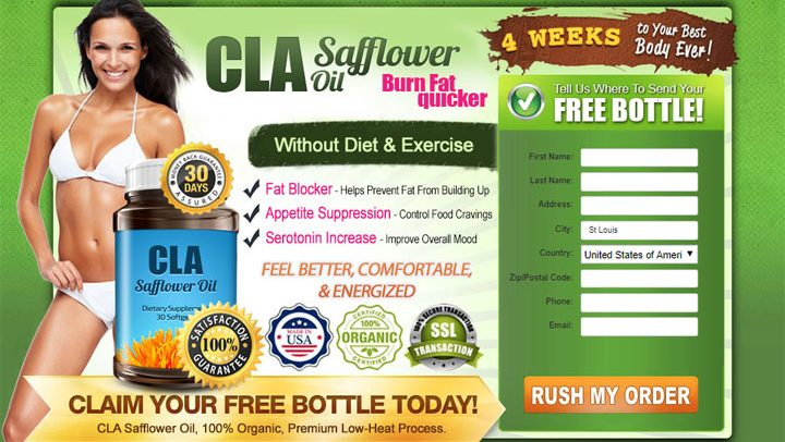 CLA Safflower Oil Discounted Prices