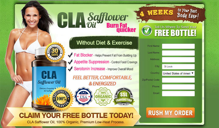 CLA Safflower Oil Discounted Prices: Fastest Way to Burn Belly Fat
