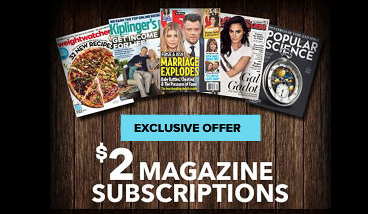 Discount Magazine Subscriptions with BlueDolphin!