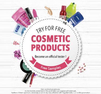 FREE Cosmetics Samples