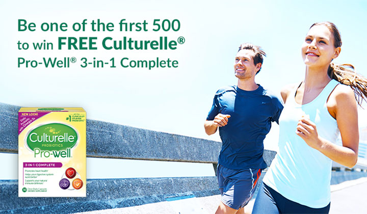 FREE Culturelle Pro-Well 3-in-1 Complete Package