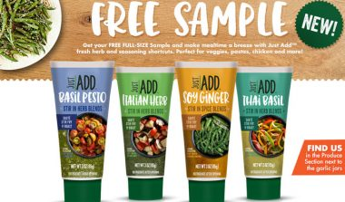 FREE Just Add Fresh Herb and Seasoning Sample