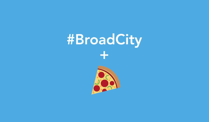 East Coast: FREE Pizza by Tweeting