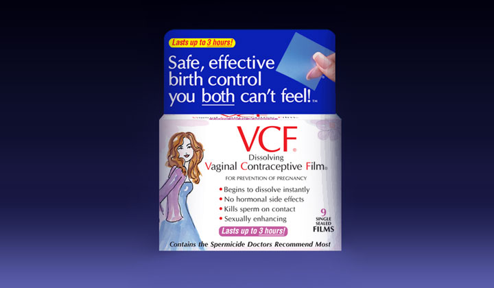 FREE Vaginal Contraceptive Film Sample