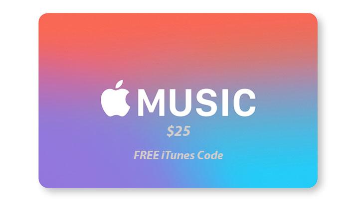 $25 FREE iTunes Code from Marlboro