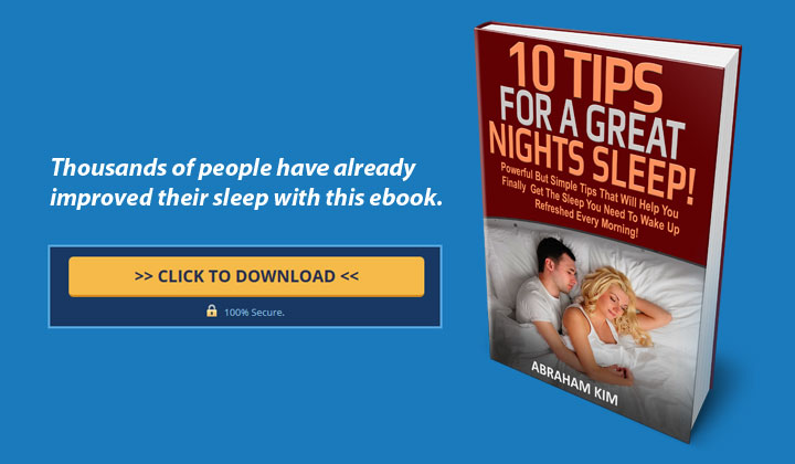 FREE e-Books Online – 10 Tips For A Great Nights Sleep