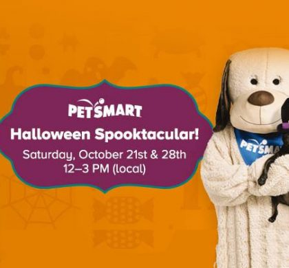 PetSmart Halloween Spooktacular Event on October 21st and 28th