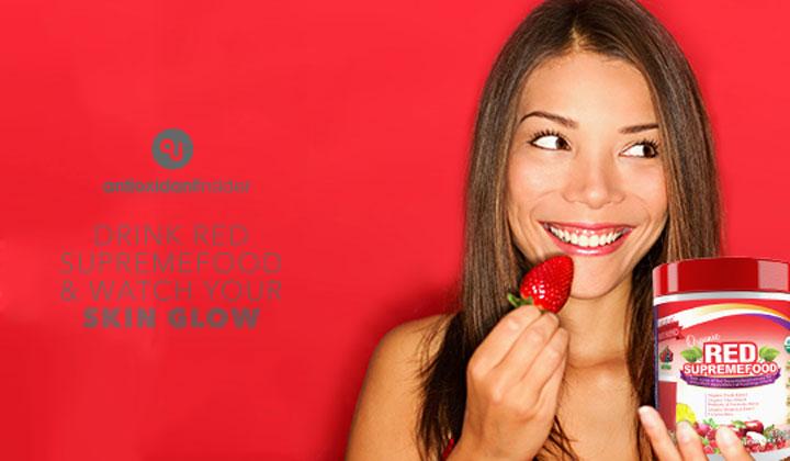 Red Supremefood Vitamins for Skin Health