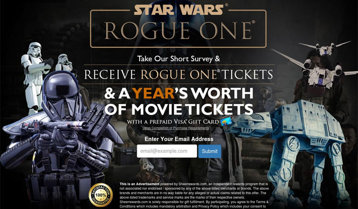 Rogue One Star Wars – One Field