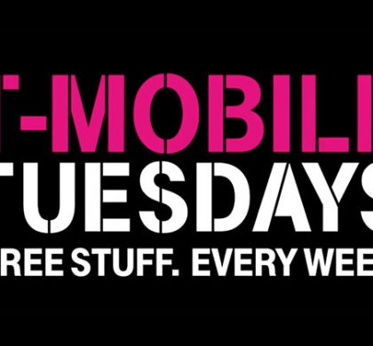 T-Mobile Tuesdays Free Stuff!