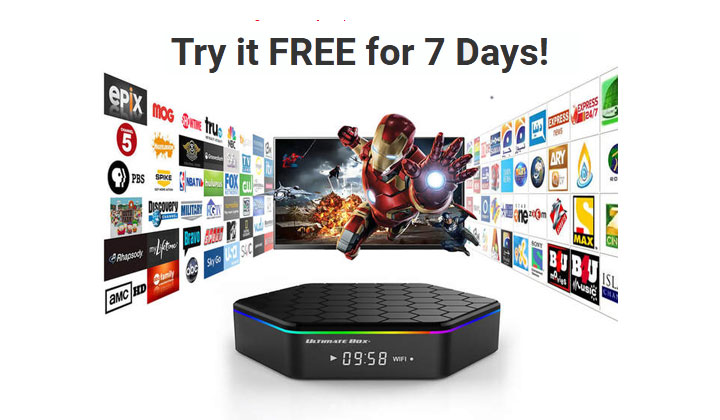 Ultimate TV Box – Get 1400+ channels FREE!