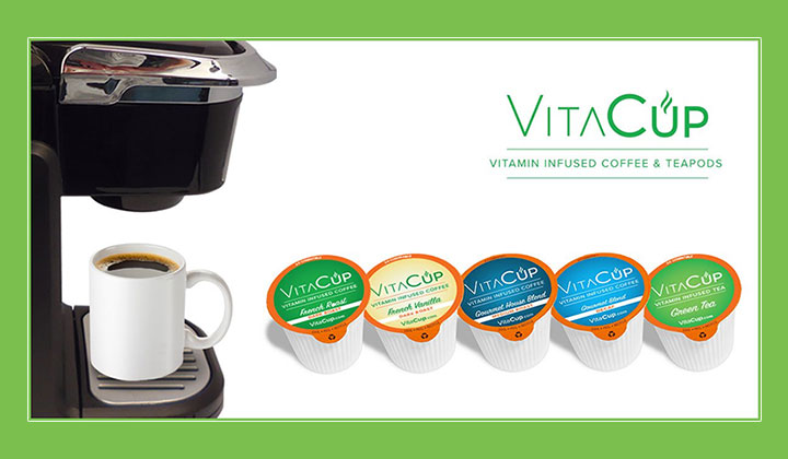VitaCup – Vitamin Infused Coffee Pods (Get 20% OFF)