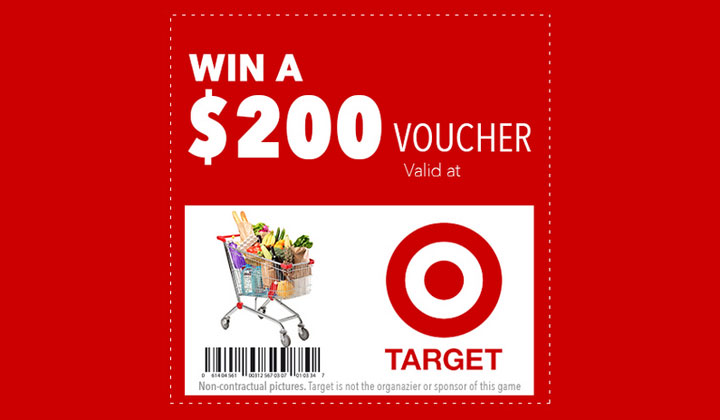 $200 WIN Target Gift Card