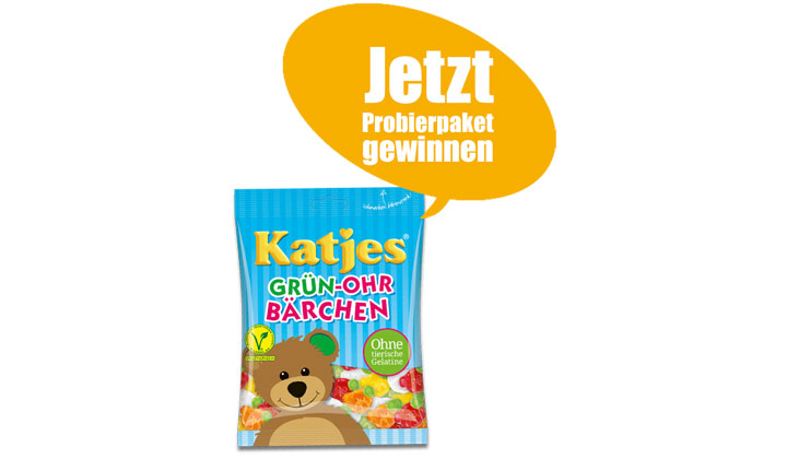 Katjes Sweepstakes – Win Katjes Candy!