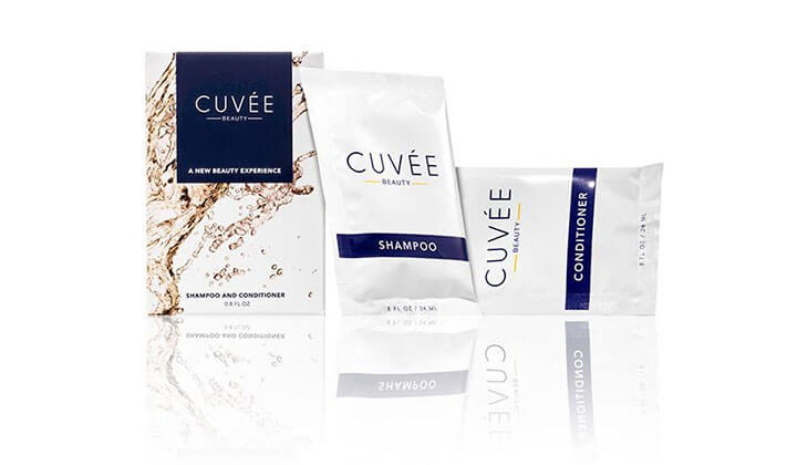 FREE Cuvee Shampoo and Conditioner Sample