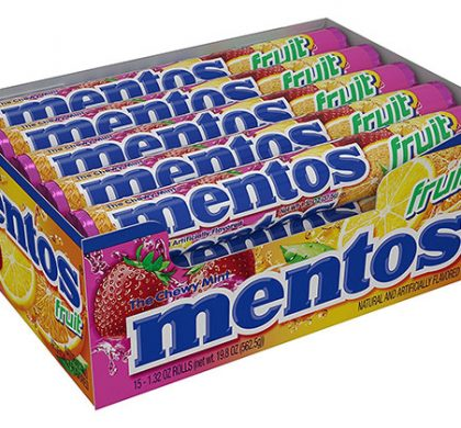 FREE Mentos at Kroger & Affiliates on Nov. 23 and 24 Only