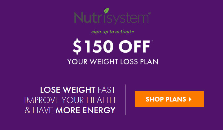 Nutrisystem Black Friday – Cyber Monday