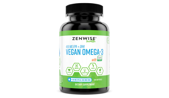 FREE Bottle of Vegan Omega-3 Supplements