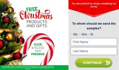 FREE Christmas Samples!