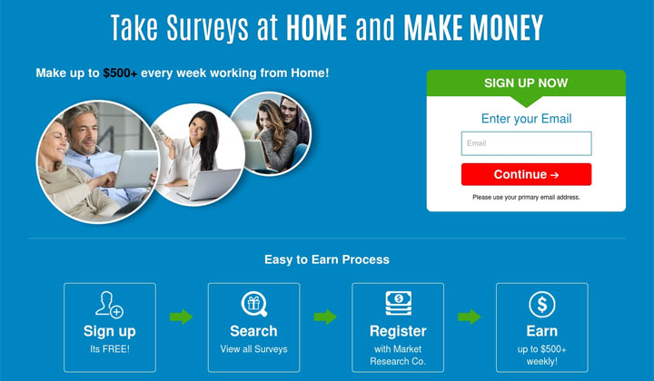 Opinion City – Take Surveys At Home and Make Money