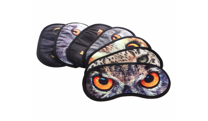 FREE 3D Animal Sleep Mask with the discount code!