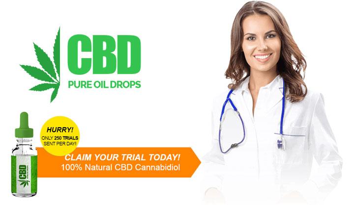 CBD Pure Oil Drops Trial