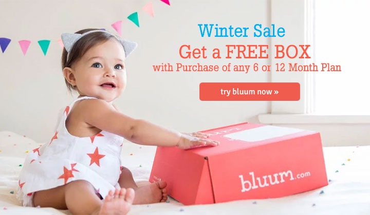 FREE Monthly Subscription Boxes for kids and Mom – Bluum Box