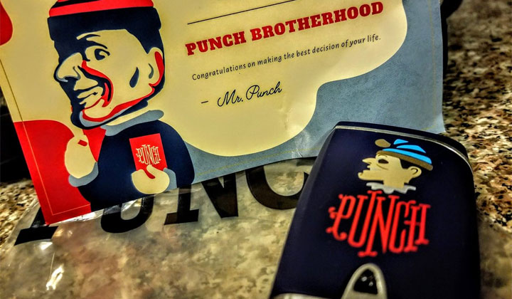 FREE Punch Lighter to Join Punch Cigars Brotherhood Club 21+