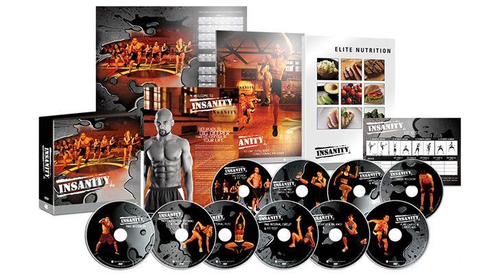 Insanity – Hardest Workout DVDs