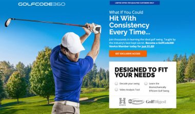 GolfCode360 – Improve Your Golf Swing – $1 Trial