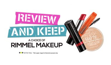 Review and Keep Rimmel London Makeup – OfferX