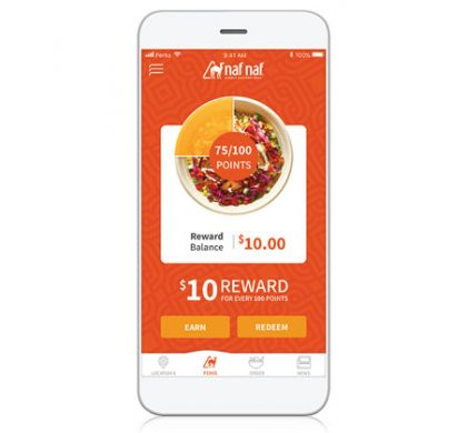 FREE Entree When You Download Naf Perks App