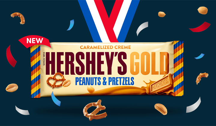 FREE Hershey's Gold Chocolate Bars on their Facebook and Twitter Pages!
