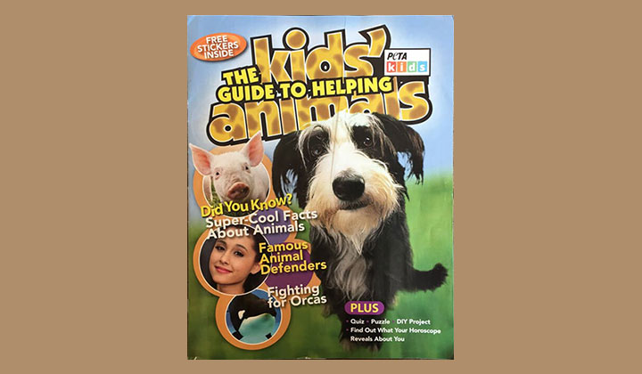 FREE Kids' Guide to Helping Animals Magazine