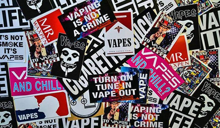 FREE Vape Stickers from Vape Street Wear