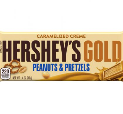 FREE Hershey's Gold Peanut & Pretzel Bar at Kroger & Affiliate Stores