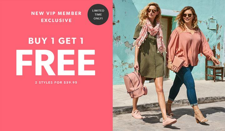 JustFab – Buy One Get One FREE