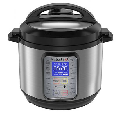 Win an Instant Pot 6-Quart 9-in-1 Programmable Pressure Cooker