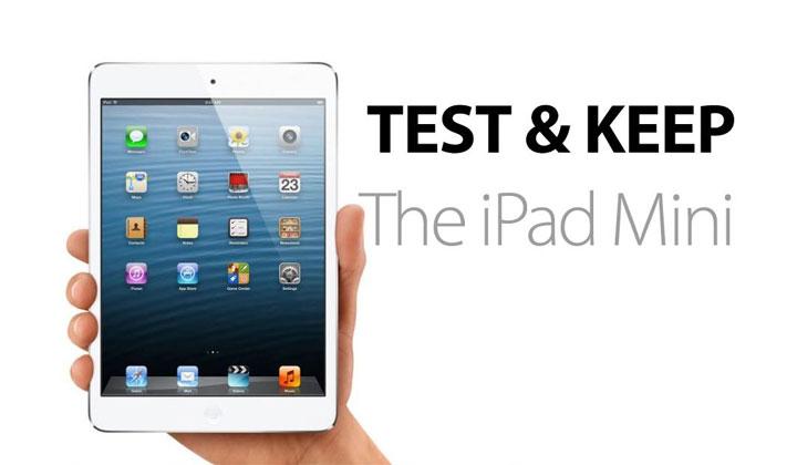 Test And Win The Apple iPad Mini