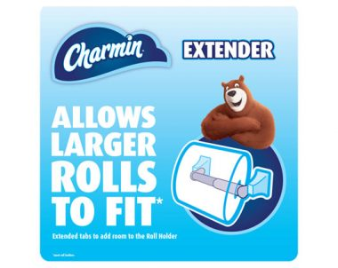 FREE Charmin Mega Roll Extender Spindle
