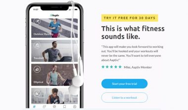 Aaptiv Fitness App – Try It Free for 30 Days