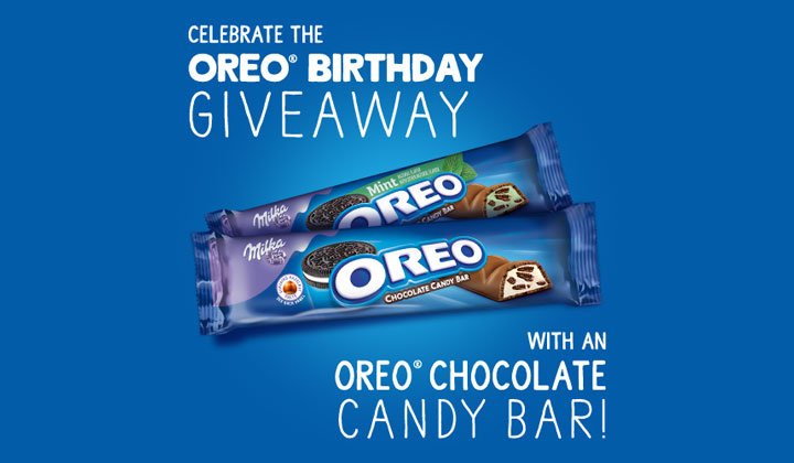 FREE Oreo Chocolate Candy Bars!