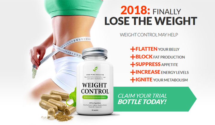 For Pure Health Trial – Weight Control
