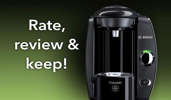 Test and Win Tassimo Coffee Machine