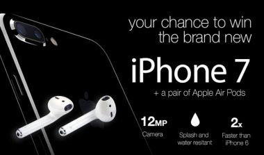 Win iPhone 7 & Air Pod Earphones