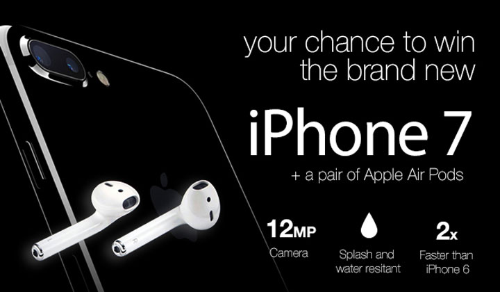 Win iPhone 7 & Air Pod Earphones