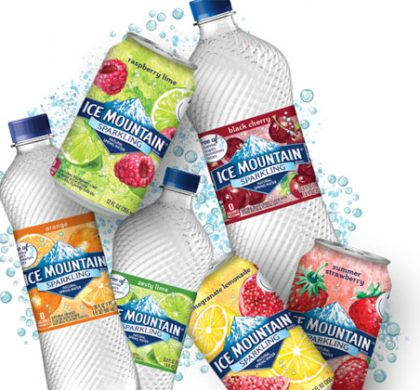 FREE 8-PACK of Sparkling Ice Mountain Brand Natural Spring Water